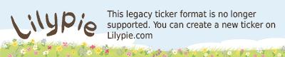 Lilypie 3�me anniversaire Ticker